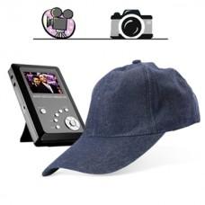 Spy baseball cap - hidden recorder/spy kit