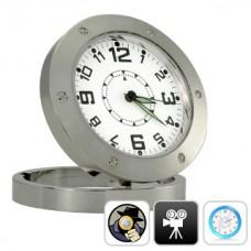 Spy Camera Clock (Motion Detection, 30FPS, Pinhole Lens)
