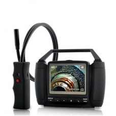 Wireless Inspection Camera - 3.5 Inch Colour Monitor + DVR, Waterproof